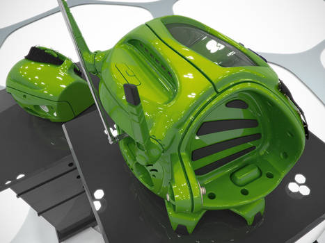 K4icy Beebox Green Detatched by MikeK4ICY