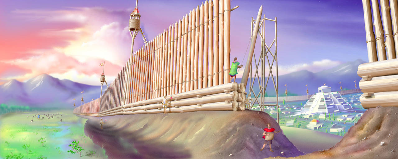Captain Moroni's Fortification by MikeK4ICY