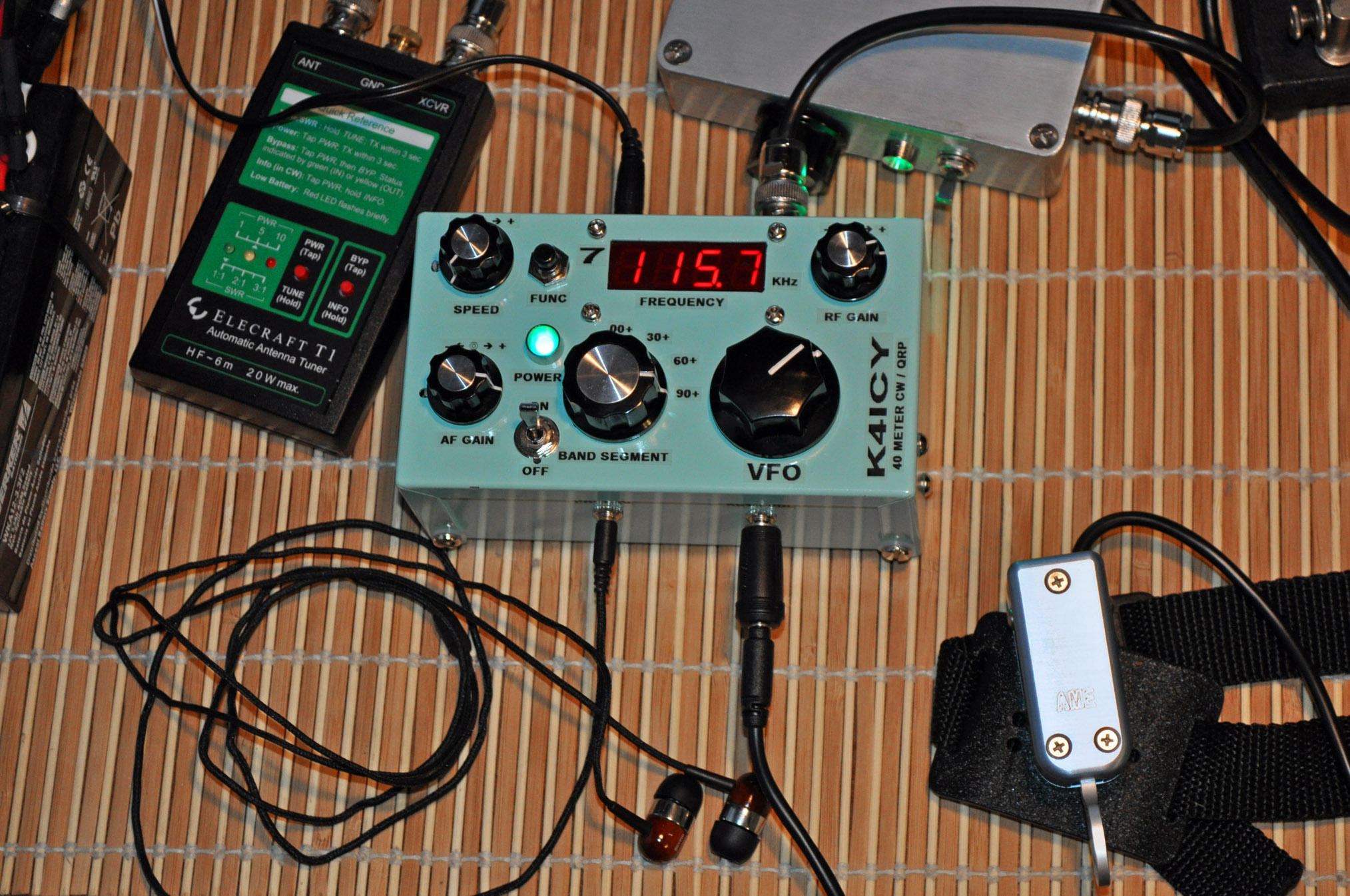 Ice Box (Homebrew QRP) by MikeK4ICY