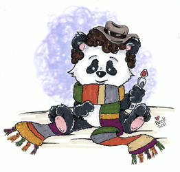 Doctor Who Bear by beckadoodles