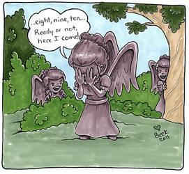 Weeping Angel Games by beckadoodles