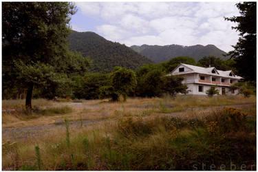 Abandoned Inn in Gabala by steeber