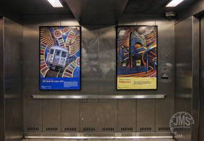 Subway Elevator Posters by steeber