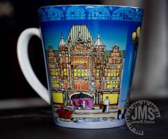 Dayton Arcade Color Mug on Desk by steeber