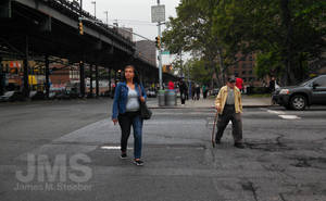 Crossing in the Bronx by steeber