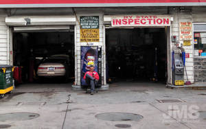 Inspection Garage by steeber