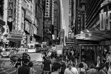 Madding Crowd of 42nd Street by steeber