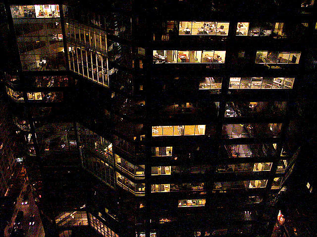 Windows after Hours by steeber