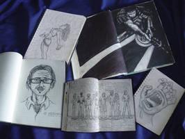Meus Sketchbooks by LeonardoGouveia