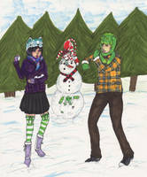 Snowball Fight by sorjei
