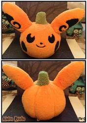Alolan Raichu Pumpkin by sorjei