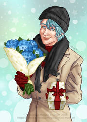 Mystic Messenger: V Christmas DLC by Biodin