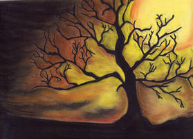 Tree in the Night by ToniTiger415