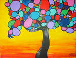 Trees of Circles by ToniTiger415