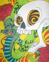Snake Skull by ToniTiger415