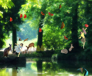 A sunny day in Narnia by Hermione75