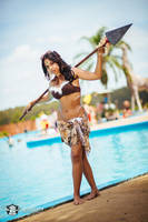 Nidalee Poolparty --- League of Legends by SlythSalaz