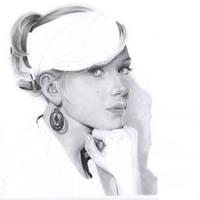 Scarlett Johansson no3 WIP 4 by ElenaR