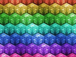 Star Block Wallpaper by Humble-Novice