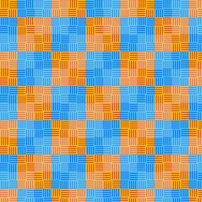 Summer Square Pattern by Humble-Novice