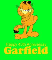 Garfield 40th Anniversary by mrentertainment