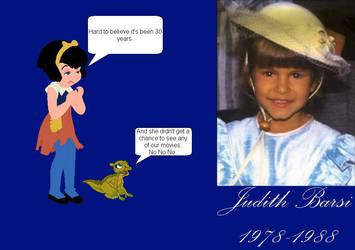 Remembering Judith Barsi by mrentertainment