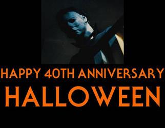Halloween 40th Anniversary by mrentertainment