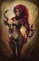 Zyra, Rise of Thorns by Kittrix