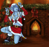 Rubine - Christmas by xella