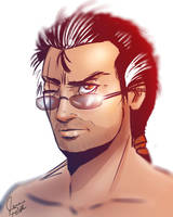 Auron Shirtless by crystachick