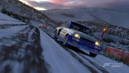 Forza Horizon 3: Winter Chase by SleekHusky