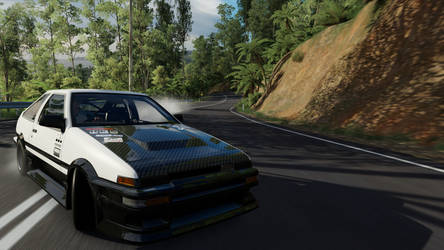 Forza Horizon 3: AE86 Returns by SleekHusky