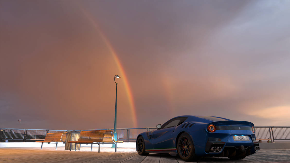 Forza Horizon 3 Whats At The End Of A Rainbow By Sleekhusky On