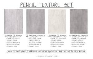 Pencil Texture Set by altback