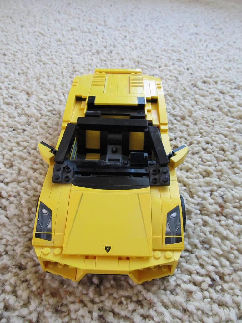 Lego Lamborghini Gallardo Lp 560 4 Spyder 1 By Michaelb450