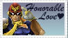 SSBB Captain Falcon Stamp by crafty-manx