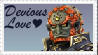 SSBB Ganondorf Stamp by crafty-manx