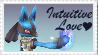 SSBB Lucario Stamp by crafty-manx