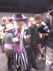 Abunaicon 2014 cosplay Undertaker by Draakedan