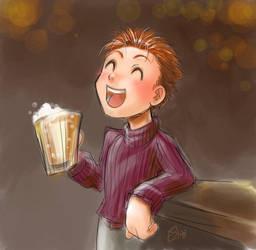 Gate: Shane and Beer by gatemush