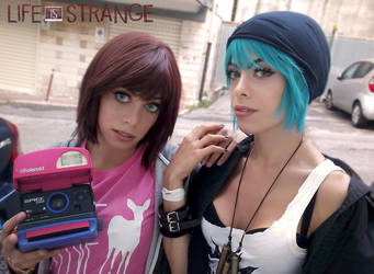 Max and Chloe life is strange by LilituhCosplay