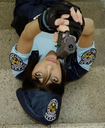 Jill Valentine resident evil 1 cosplay by LilituhCosplay