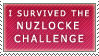 I Survived the Nuzlocke Challenge Stamp by LackadaisicalLeopah
