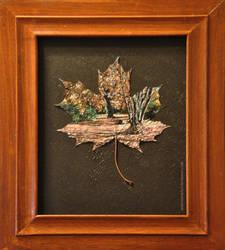 Herbstblatt by andreasmichel