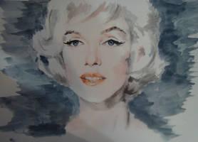 Marilyn Monroe by Feles13