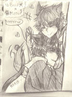 ~ InuxNeko ~ by Emo-sanX