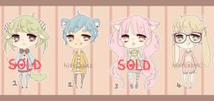 $4/400pts Pastel Adopts [2/4 OPEN] by hitterbee