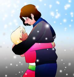 Hugging by saxitlurg