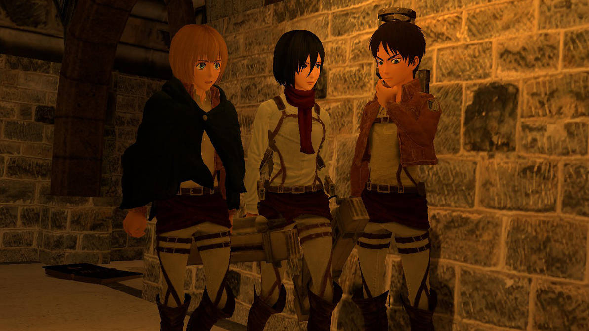 [Release] Attack on Titan Gmod pack 1 by detreter