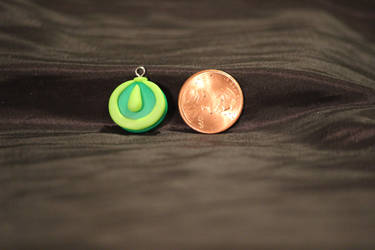 FOR SALE!! Green and Light Green Pendant $5 by Jadie-Lee